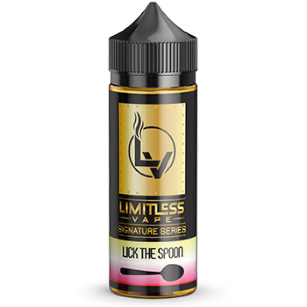 Limitless Vape E-Juice - Lick the Spoon Signature Series Flavour