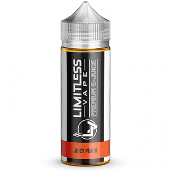 Limitless Vape E-Juice - Juicy Peach Flavour