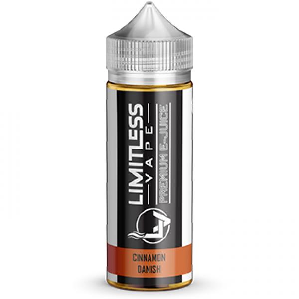 Limitless Vape E-Juice - Cinnamon Danish Flavour
