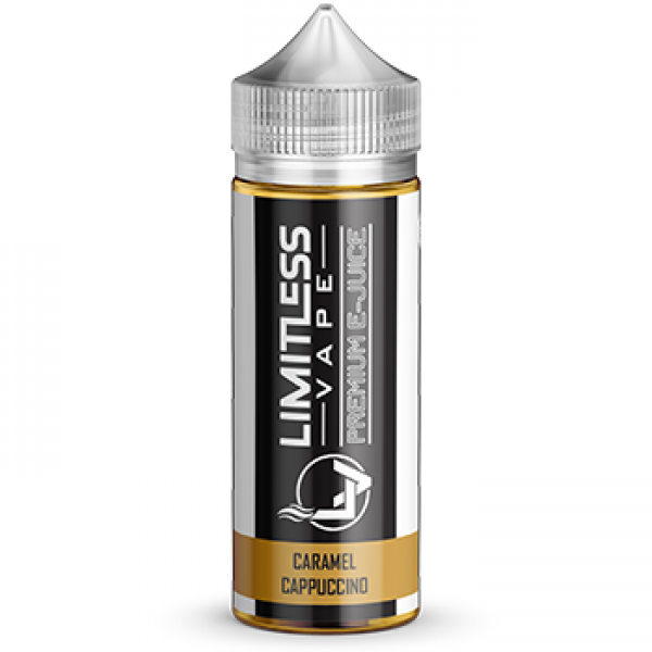 Limitless Vape E-Juice - Caramel Cappuccino Flavour