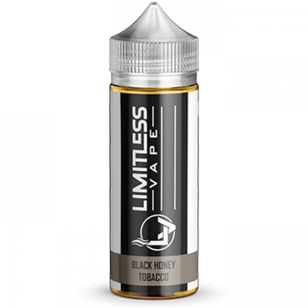 Limitless Vape E-Juice - Black Honey Tobacco Flavour