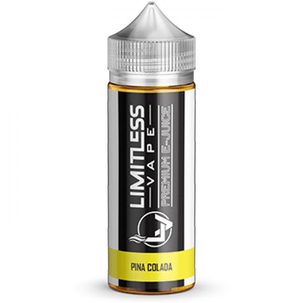 Limitless Vape E-Juice - Pina Colada Flavour