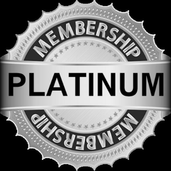 #4 - Platinum Membership - $350.00 store credit